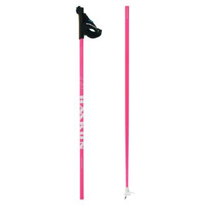 Nordic ski poles HAAKON Junior W pink